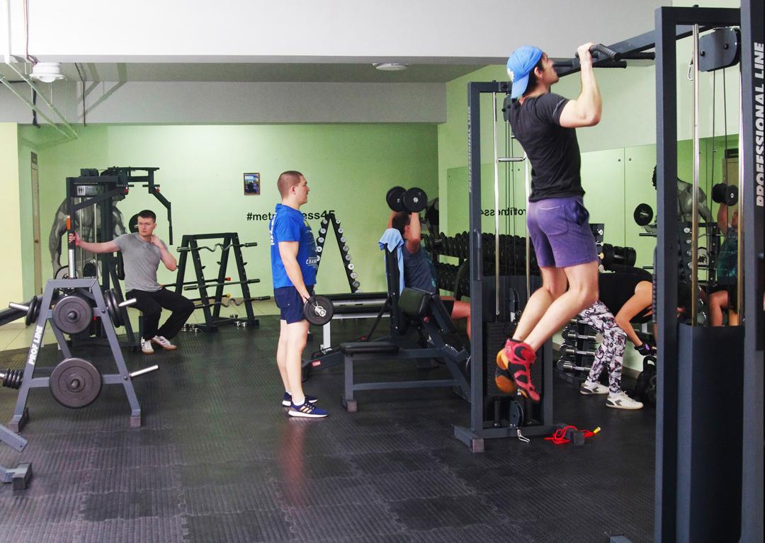 12 месяцев безлимитного посещения в спорт-клубе «MetroFitnes»
