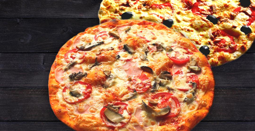 Сет из 2 пицц от службы доставки «Хоббит Экспресс»