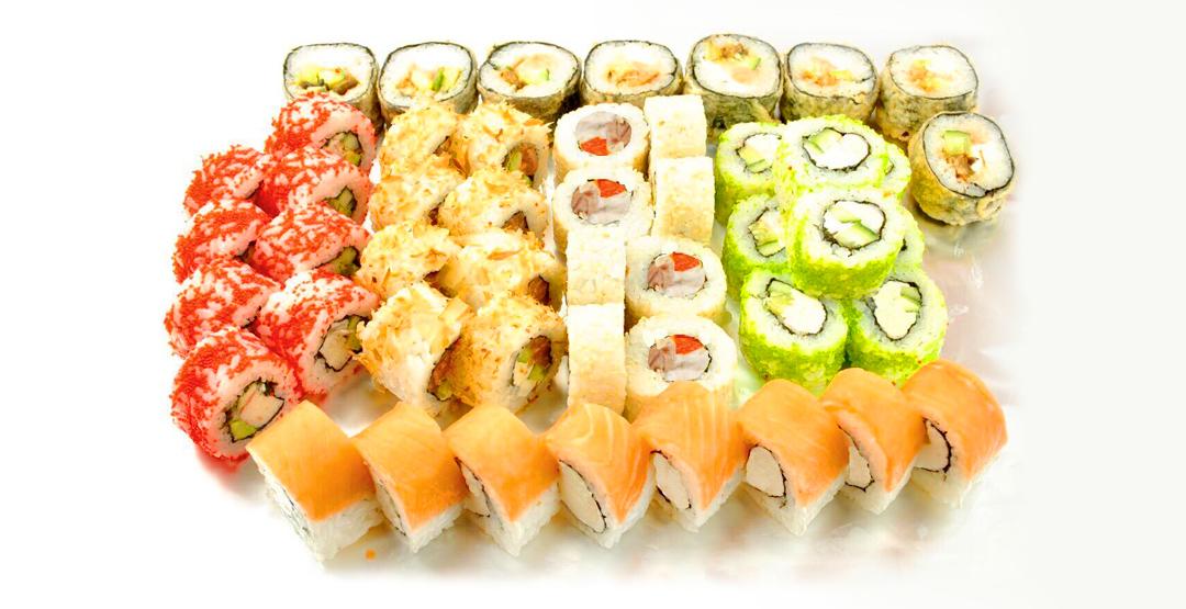 Сет «Европейский» от службы доставки «Sushi WoK 45»