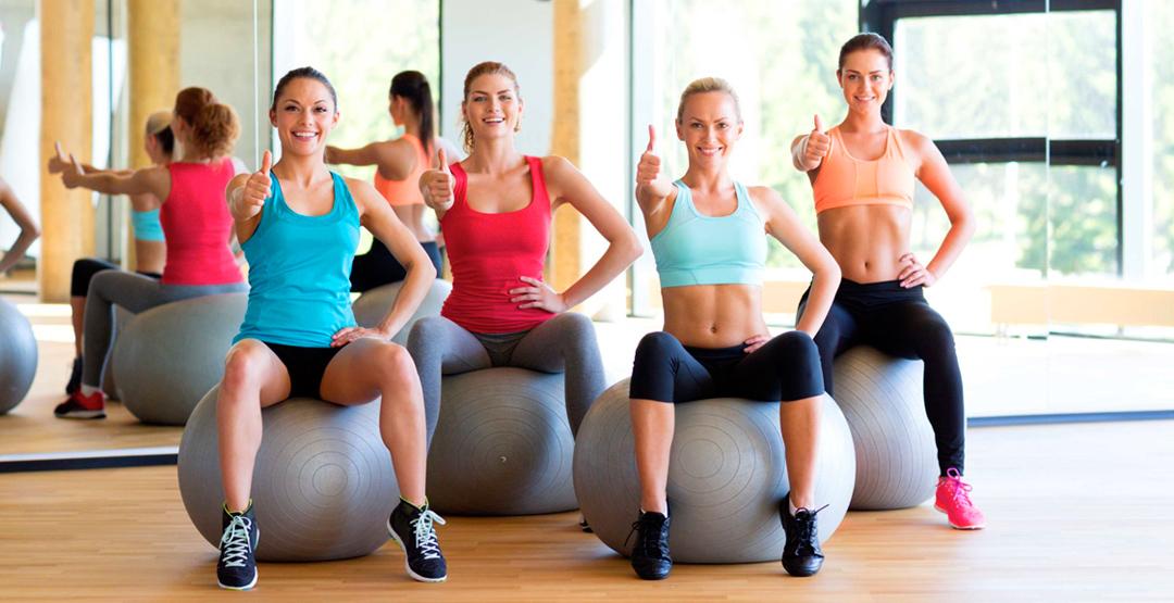 Групповые тренировки в фитнес клубе «Воробьёвы горы»