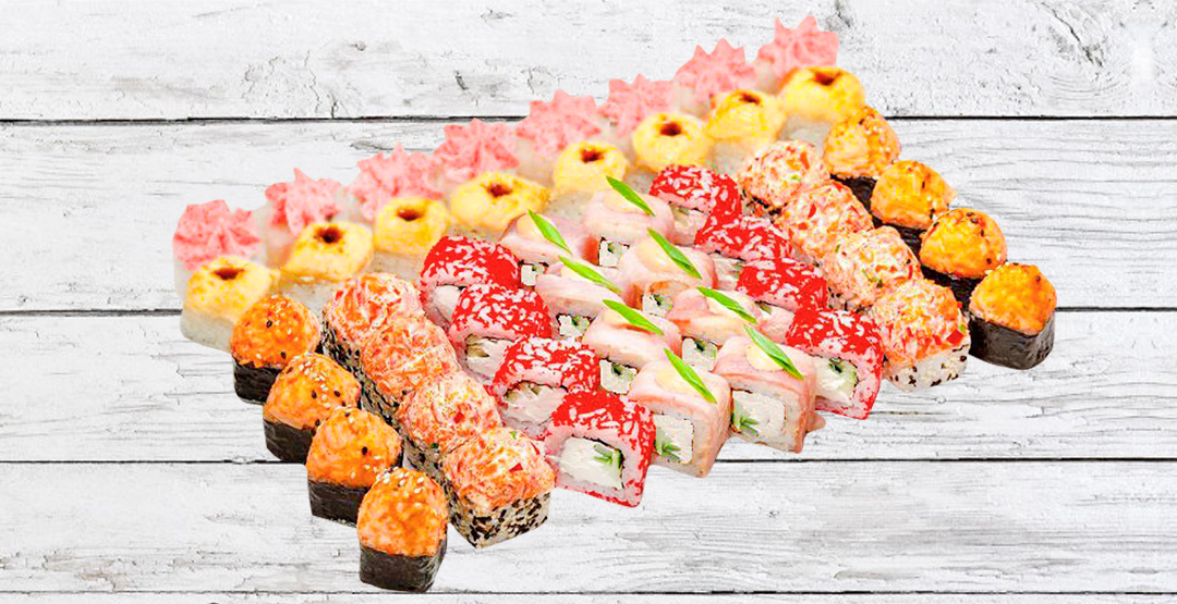 Cет «Гурман» + бесплатная доставка от ресторана доставки «Мир Суши»