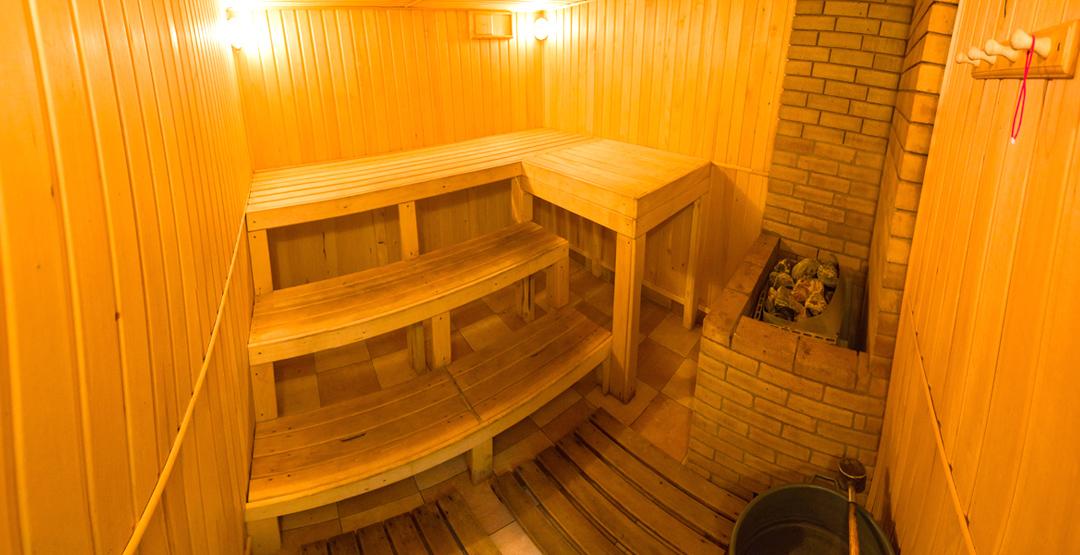 Услуги бани в комплексе «Айвенго»