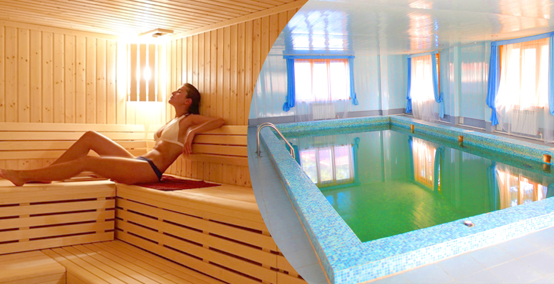 3-й час бани с бассейном от базы отдыха «Тобол»