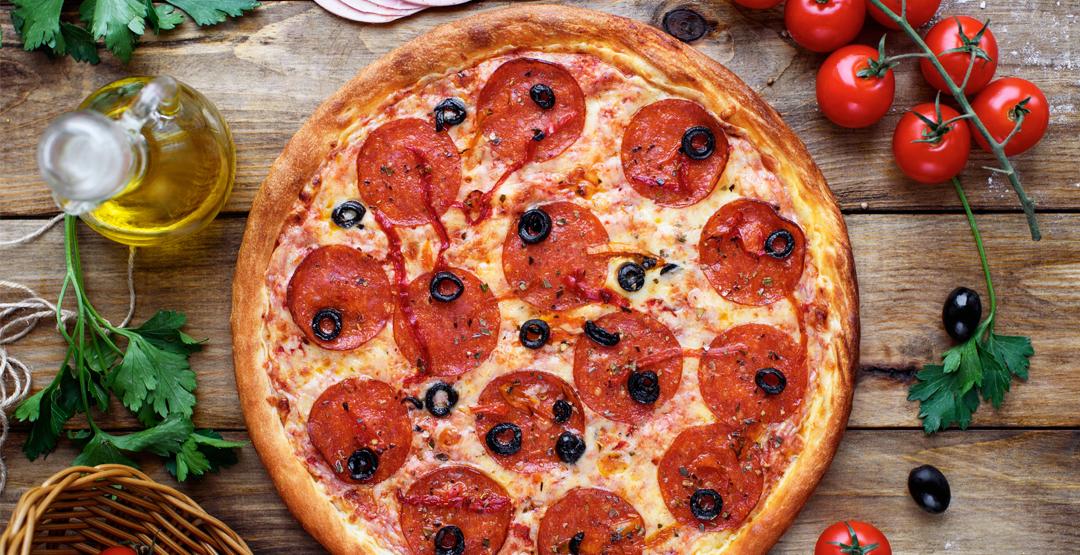 Любая пицца от службы доставки «Япошка»