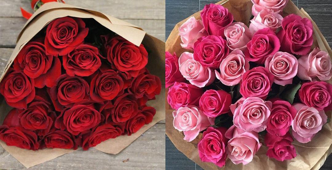 7 роз «Эквадор» с оформлением от салона Цветы Кургана.РФ