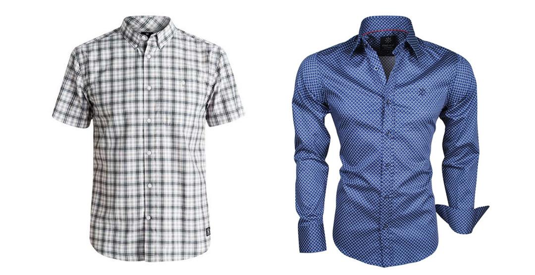 Мужские сорочки от магазина мужской одежды «Весёлые ребята»