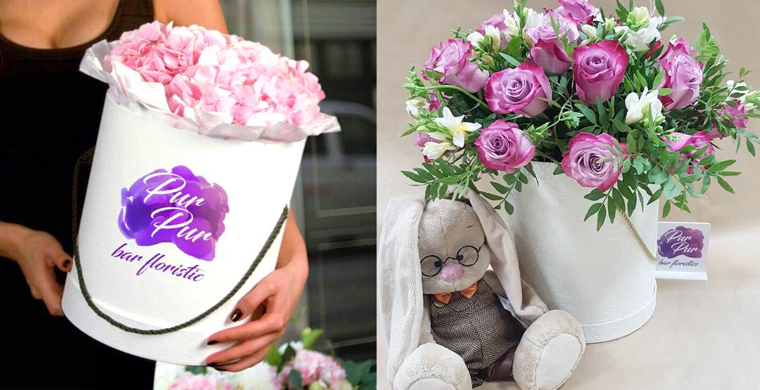 Букет цветов от «PurPur Bar Floristics»