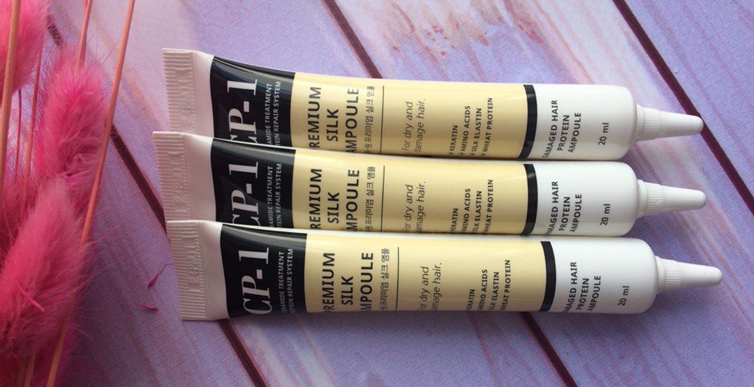 Сыворотка с протеинами шелка для волос + бесплатная доставка от магазина «Корейская косметика»