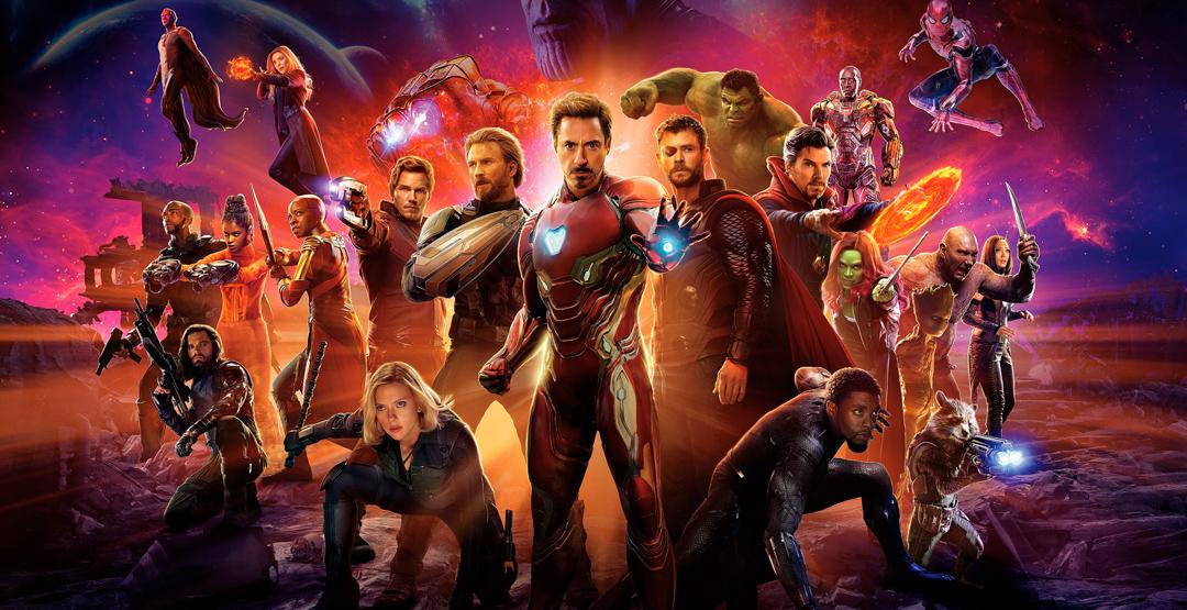 Фильм «Мстители: Война бесконечности» в кинотеатре «Россия»