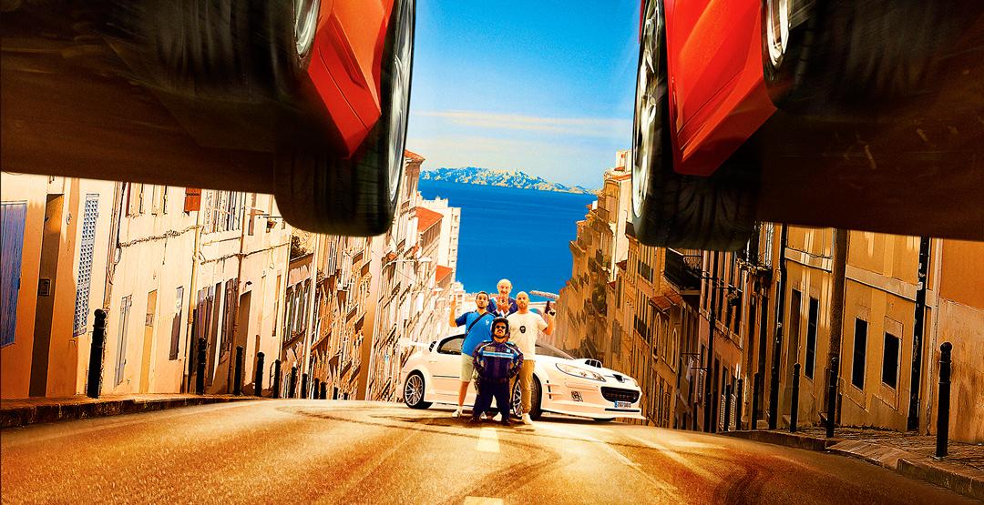 Фильм «Такси 5» в кинотеатре «Россия»