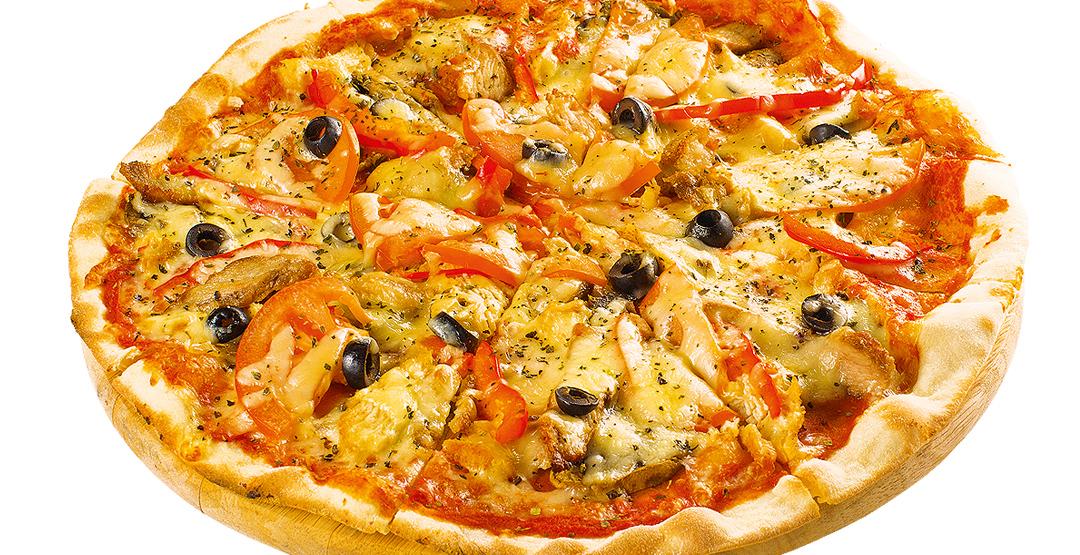 Сет «Палочки оближешь» + пицца «ЧикенТома» от службы доставки «Хоббит Экспресс»