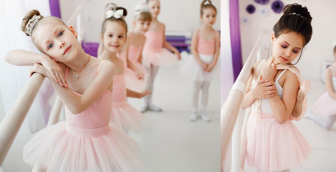 Подарочный сертификат в детскую школу балета «Lil Ballerine»