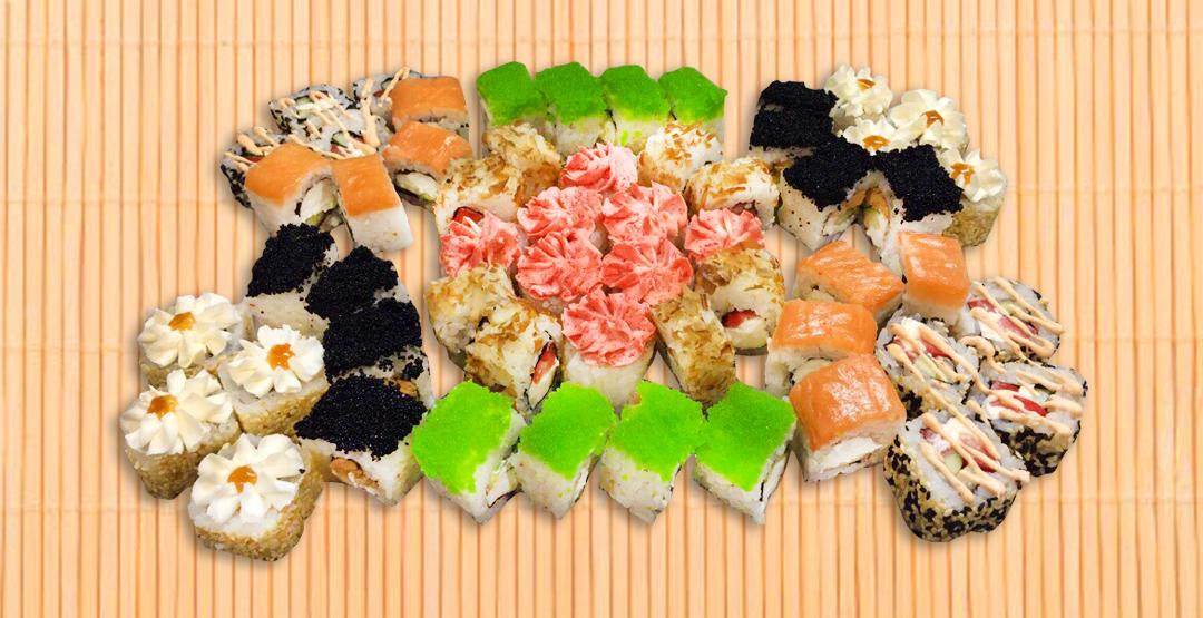 Сет «Магия Вкуса» от ресторана доставки «Мир Суши»