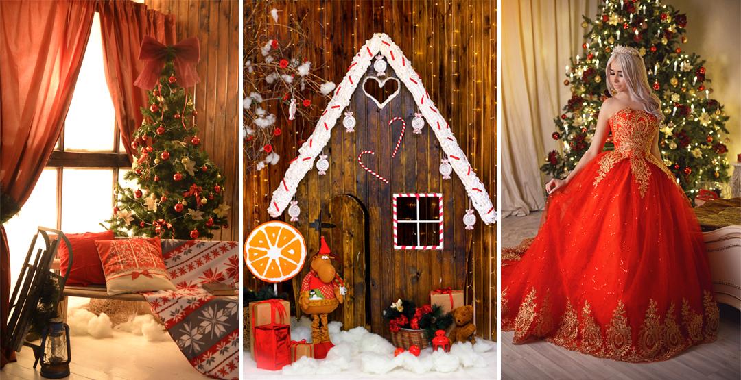 Аренда фотостудии для новогодней фотосессии от ES Studio