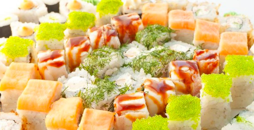 Сет «Аригато» + бесплатная доставка от компании «СушиМиуши»