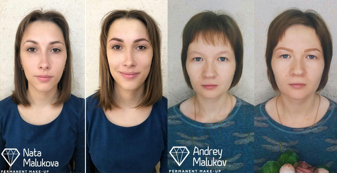 Перманентный макияж от «Мастерской бровей Андрея и Натальи Малюковых»
