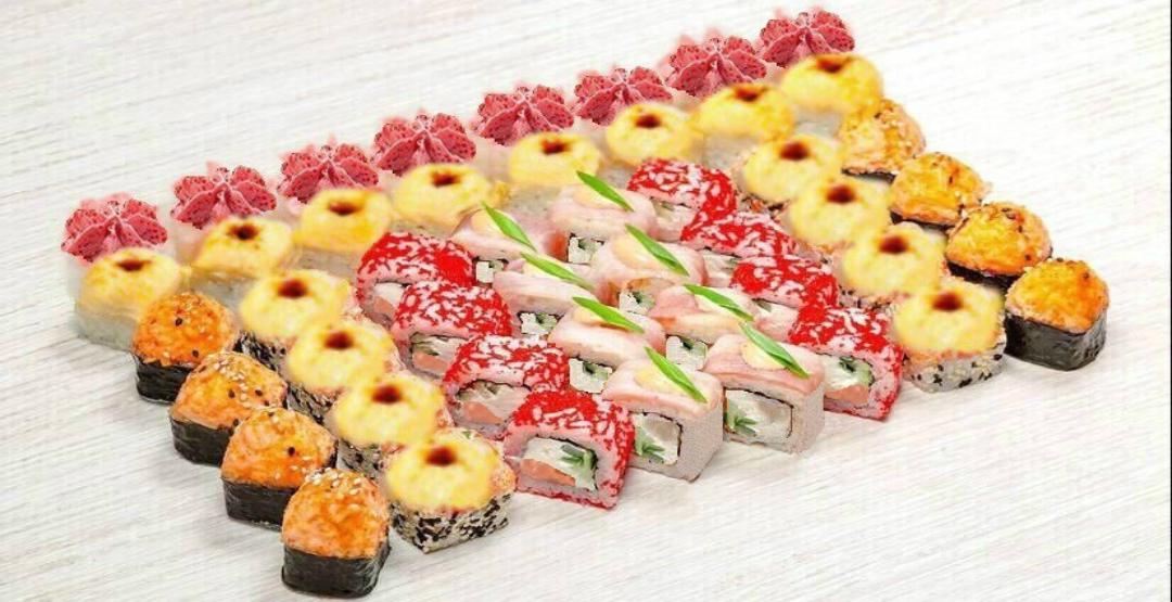 Сет «Гурман» + бесплатная доставка от ресторана доставки «Мир Суши»