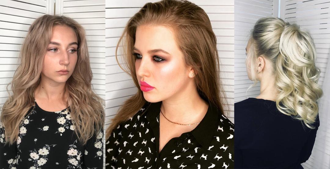 Стильный образ (Прическа + макияж) от стилиста/визажиста Солониной Екатерины