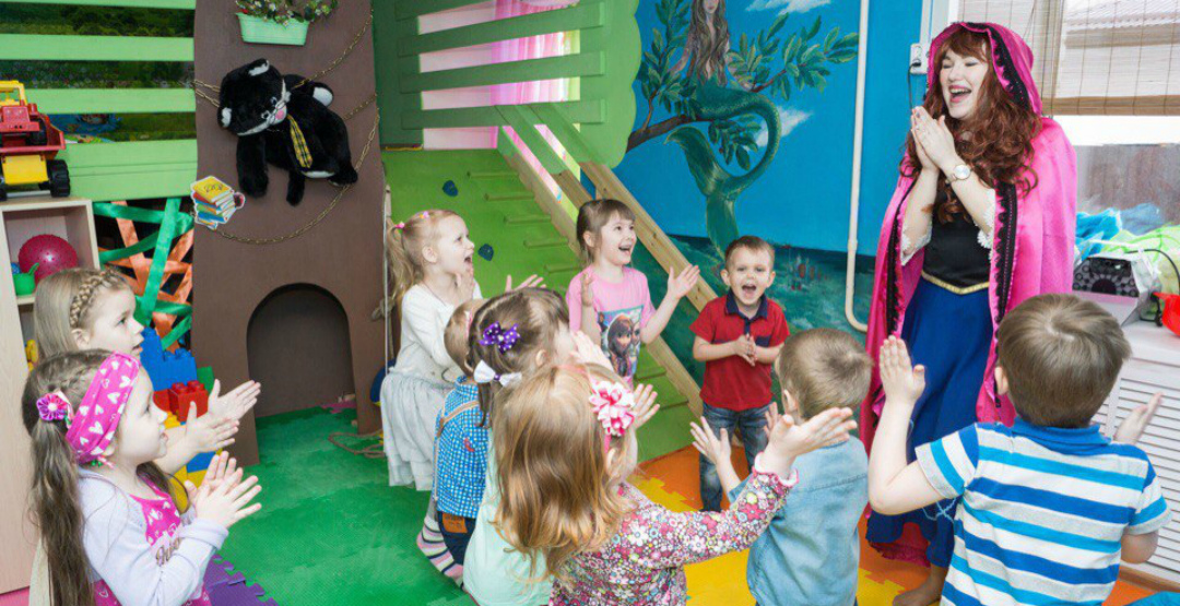 Проведение детского дня рождения в игровой комнате «Дом-гном»