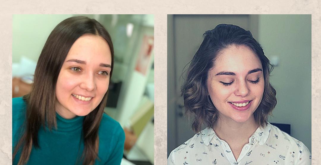 Идеальные бровки от мастера Марии Кайгородцевой