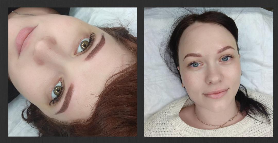 Перманентный макияж у опытного квалифицированного мастера