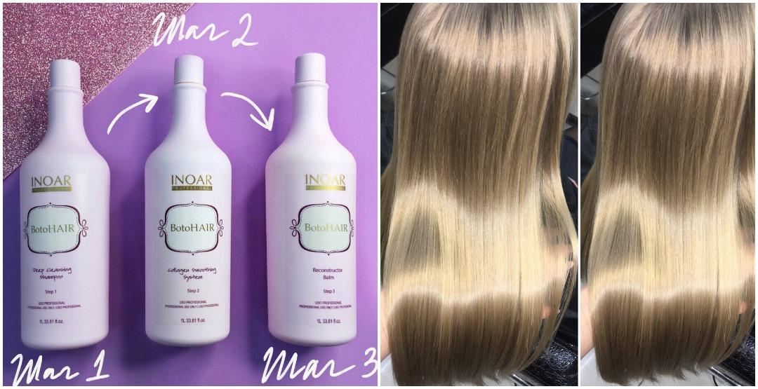 Ботокс для волос от Академии красоты «IMAGE»