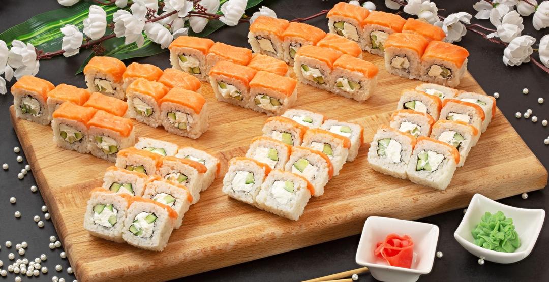 Сет «Для милых дам» от службы доставки «Sushi-master»