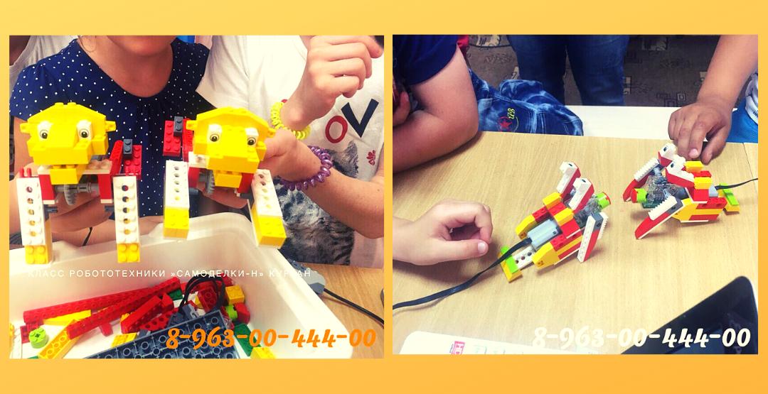 Занятия для детей в классе робототехники «Самоделкин»