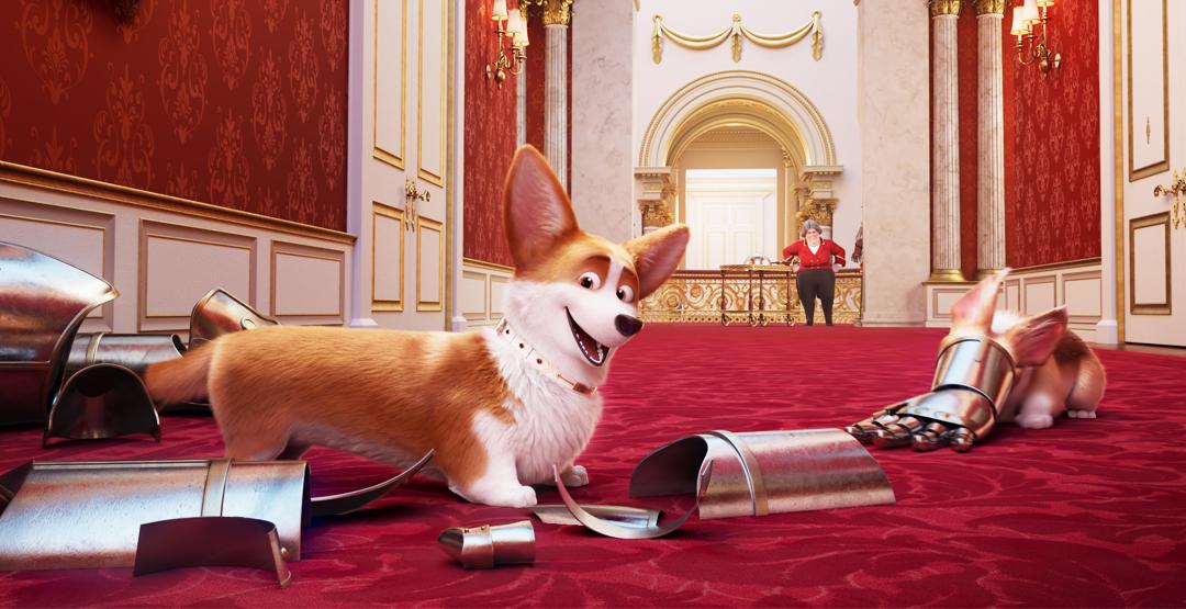 Мультфильм «Королевский корги» в кинотеатре «Россия»