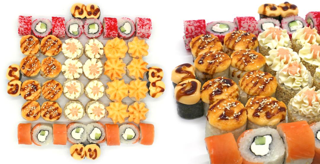 Комбо-сет «Сытый ужин» от службы доставки «Белисимо!»