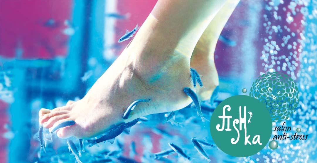 Fish-пилинг ног от студии антистрессовых процедур «FISH`ka»