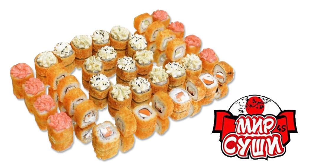 Сет «Филадельфия темпура» + бесплатная доставка от ресторана доставки «Мир Суши»