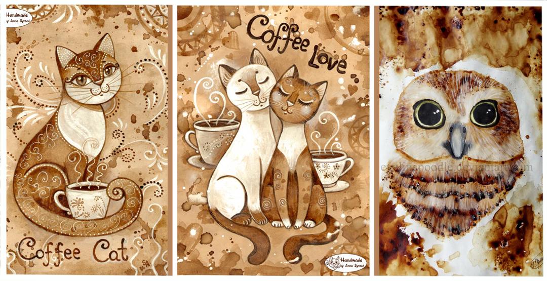 Рисование «Кофе-арт» от творческого центра «Семь сов» (5+)