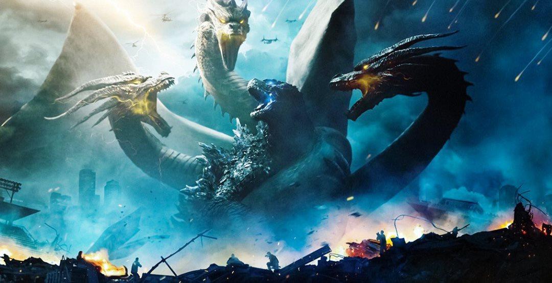 Фильм «Годзилла-2: Король монстров» в кинотеатре «Россия»