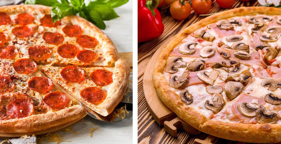 1, 2 или 3 пиццы от ресторана доставки «Мир Суши»