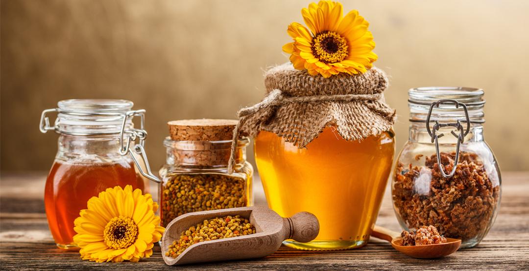 1 литр цветочного меда от выставки «Таежный мед»