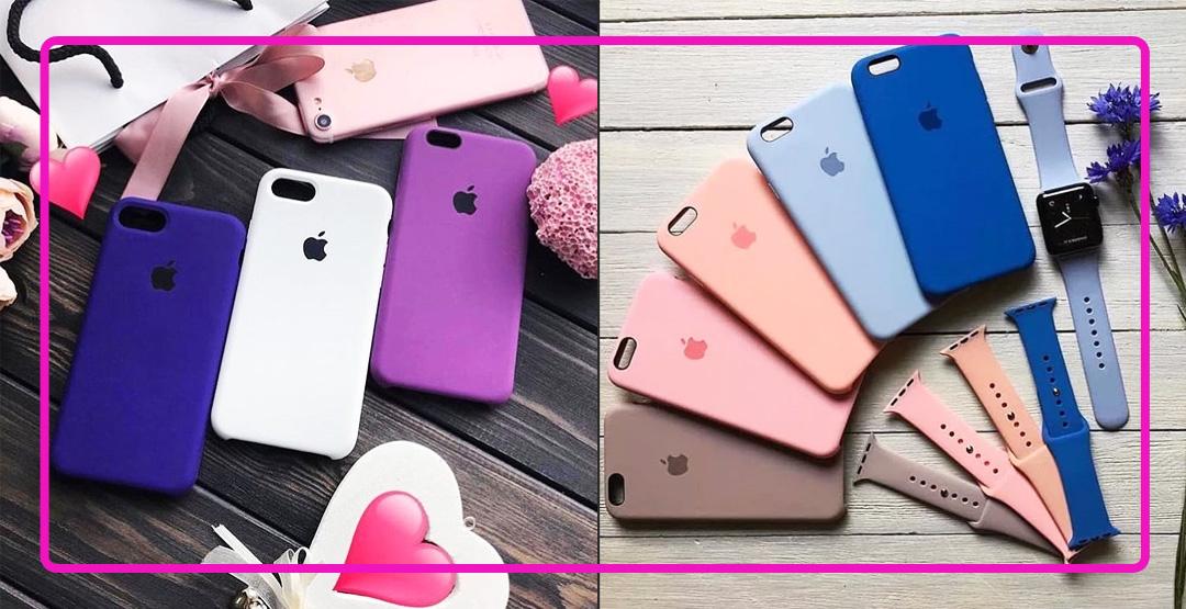 Silicon case для iPhone от компании Appleservice45