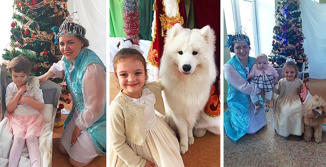 Билет на двоих на новогодний спектакль «Навстречу мечте» с участием дрессированных собак ( 5+)