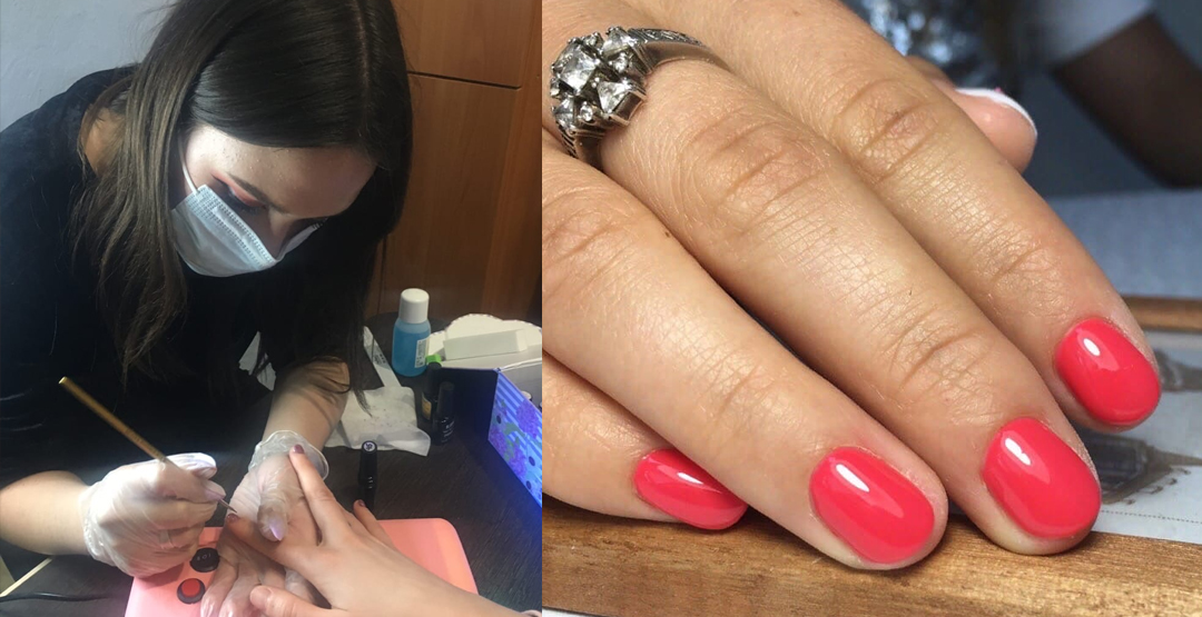 Знакомство с мастером ногтевого сервиса маникюр гель лак