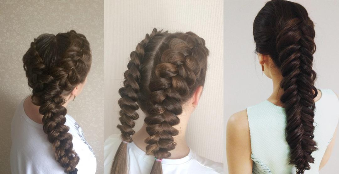 Плетение кос от мастера Натальи