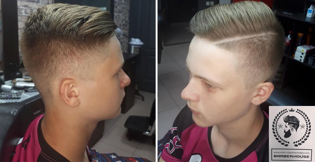 Детская или взрослая стрижка в мужской парикмахерской «BARBER HOUSE»