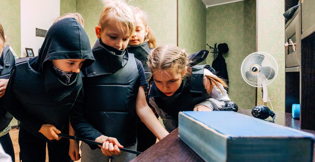 Детский квест «Ограбление банка» от «Kids квест»