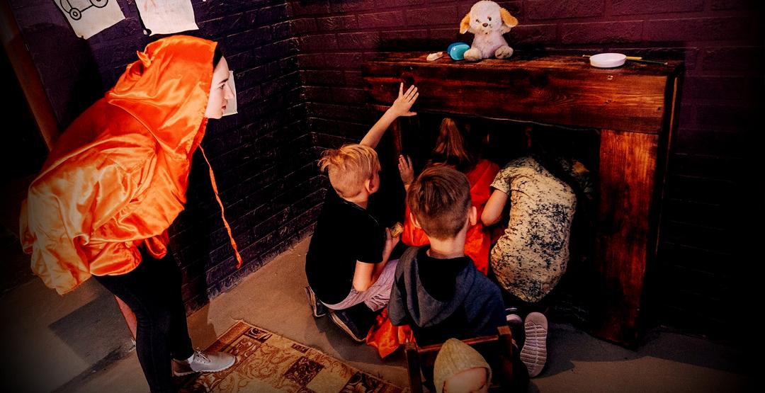 Детский квест «Дом с привидениями» от «Kids квест»