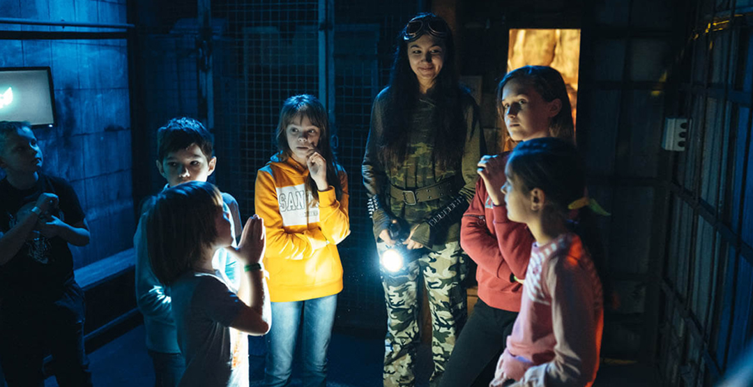 Детский квест «Опасная Зона» от «Kids квест»