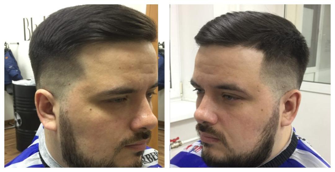Любая мужская и детская стрижка в парикмахерской «Black Barber»