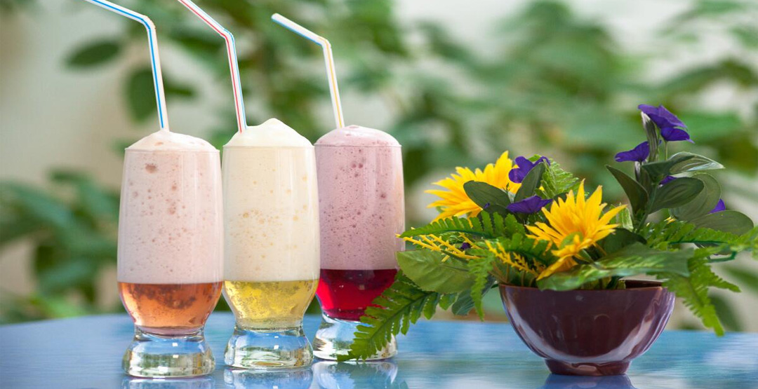 5 кислородных коктейлей от компании «Альтаир»