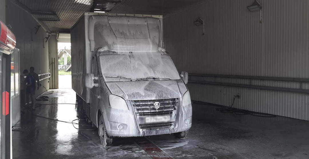 Комплексная мойка ГАЗели (пассажир. и тент.будка) от автомойки «Мир»