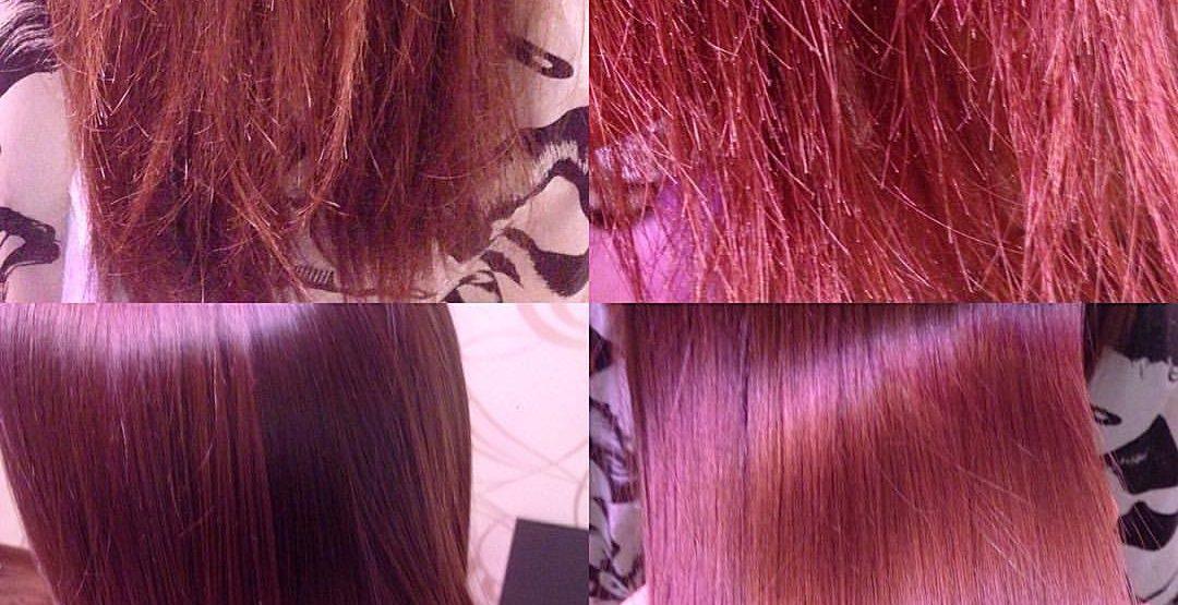 Полировка волос на любую длину